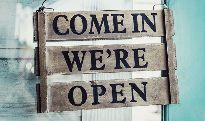 Napa Valley is OPEN...