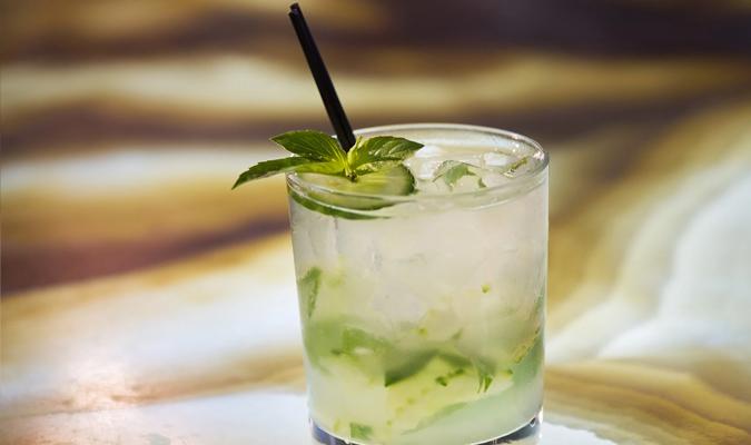 Ginny's Gin Cucumber Smash Signature Cocktail