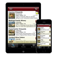 Native CellarPass iOS App Image