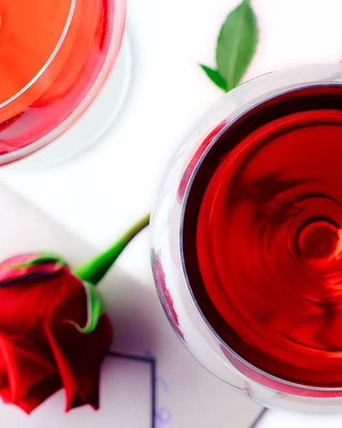 Delicious Ros Wines Image