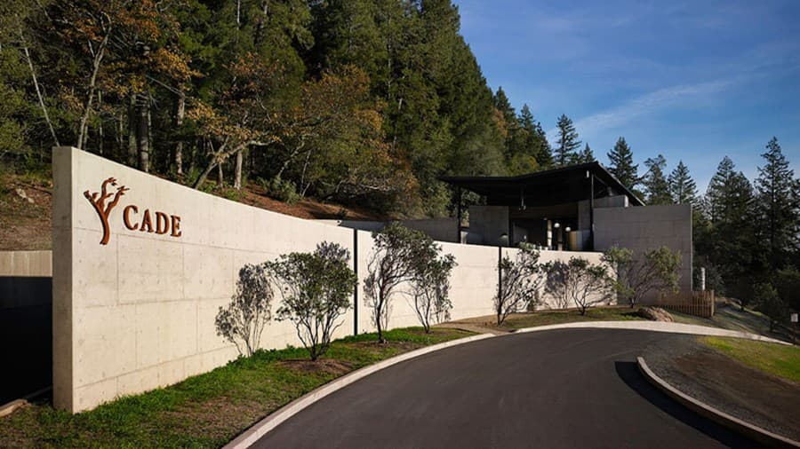 A gallery image of CADE Winery from CellarPass