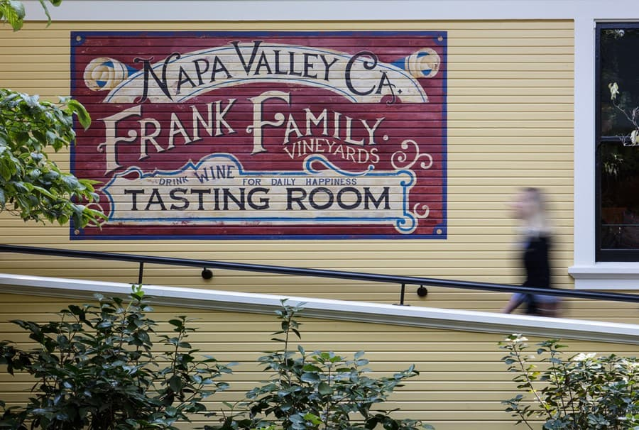 An image from Frank Family Vineyards