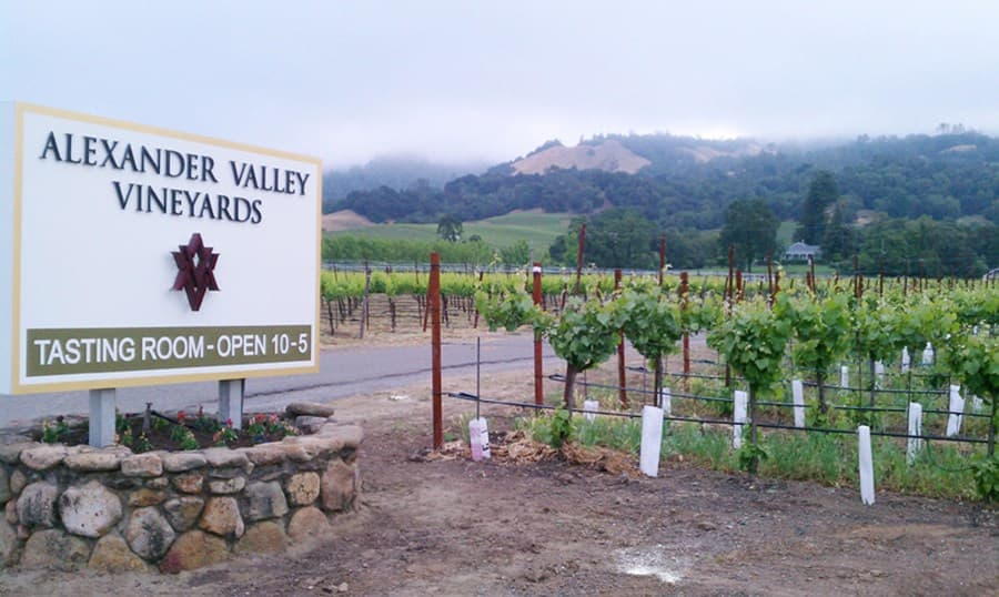 A gallery image (3) of Alexander Valley Vineyards from CellarPass