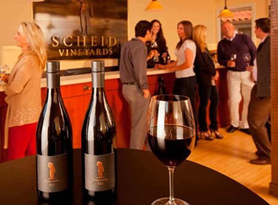 A gallery image (7781) of Scheid Vineyards Carmel Tasting Room from CellarPass