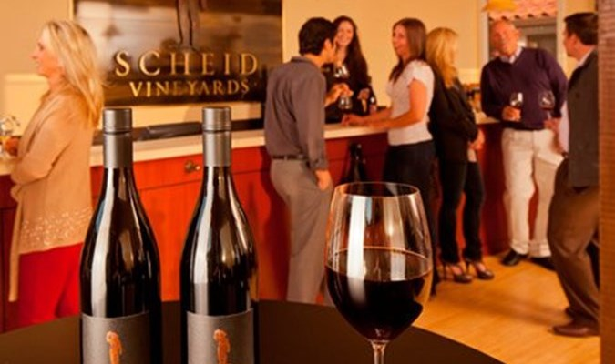 Scheid Vineyards Carmel Tasting Room
