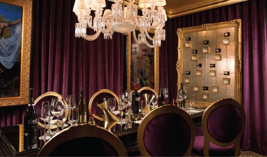 A gallery image (8683) of JCB Tasting Lounge at Ritz-Carlton San Francisco from CellarPass