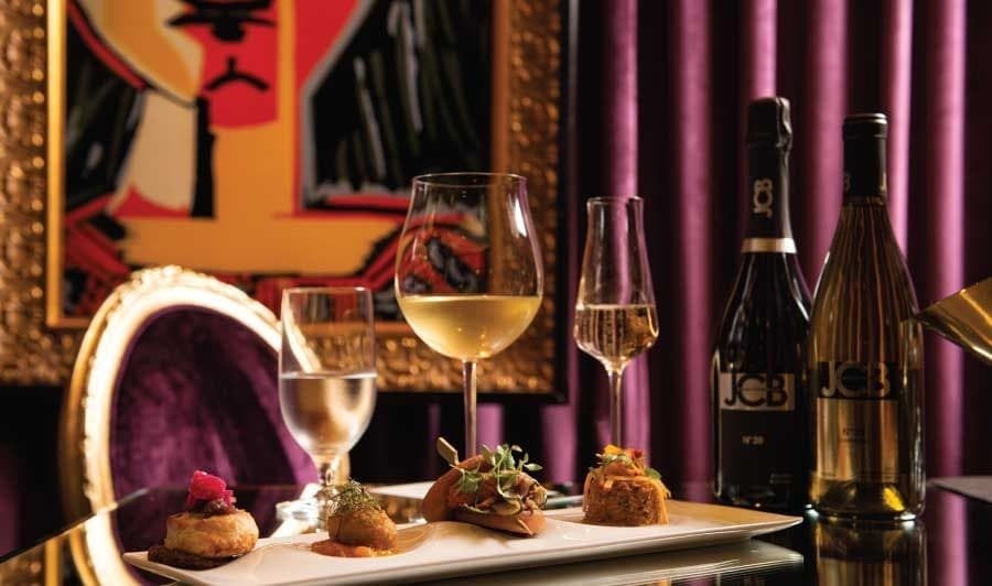A gallery image of JCB Tasting Lounge at Ritz-Carlton San Francisco from CellarPass