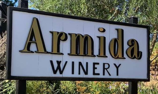 A gallery image (21536) of Armida Winery from CellarPass