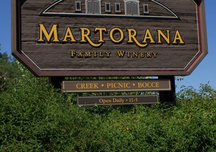 A gallery image of Martorana Family Winery from CellarPass