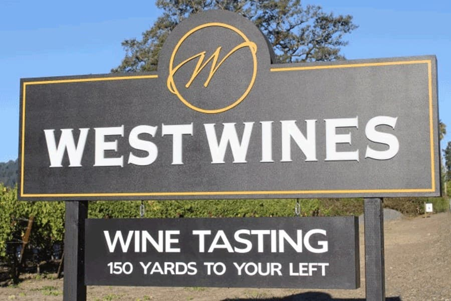 A gallery image of West Wines from CellarPass
