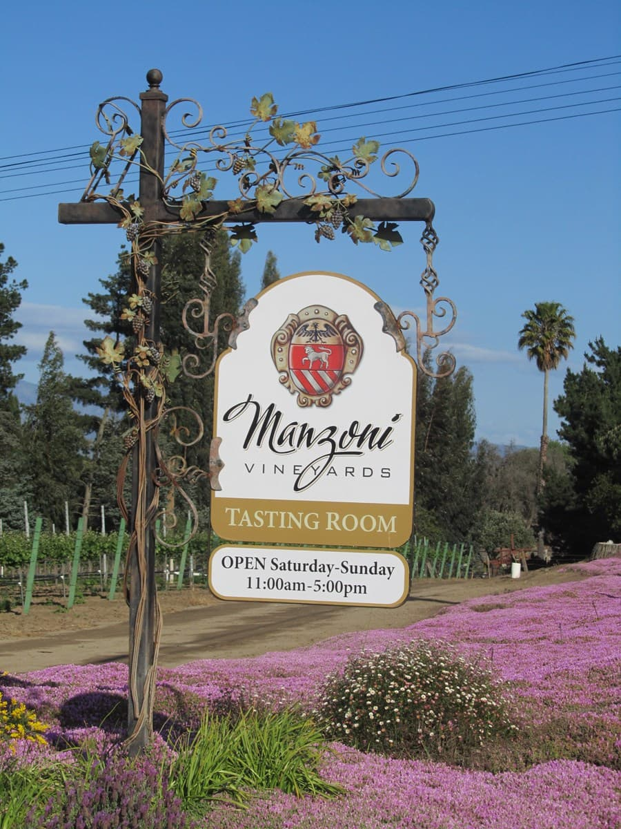 A gallery image of Manzoni Estate Vineyard from CellarPass