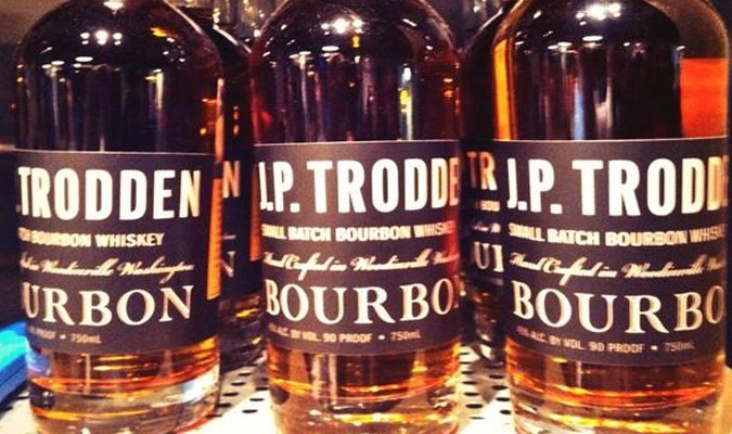 JP Trodden Bourbon