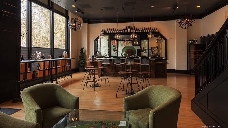 A gallery image of Domaine Serene Wine Lounge from CellarPass