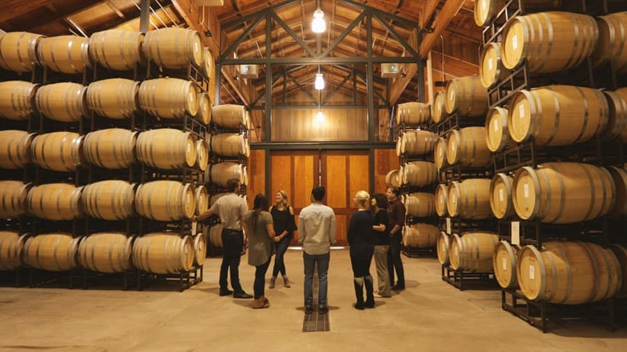 An image from Gary Farrell Vineyards and Winery