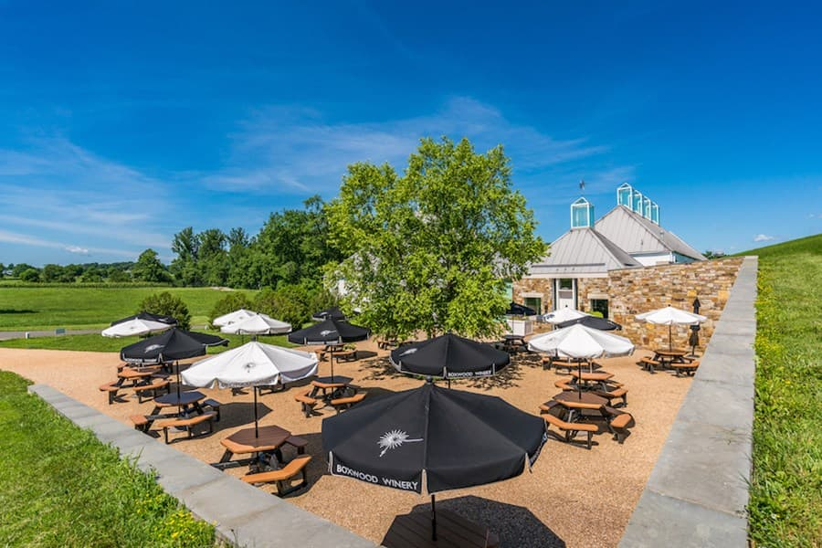 A gallery image of Boxwood Estate Winery from CellarPass