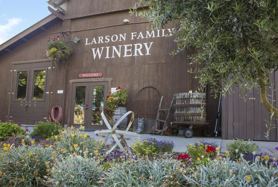 A gallery image of Larson Family Winery from CellarPass