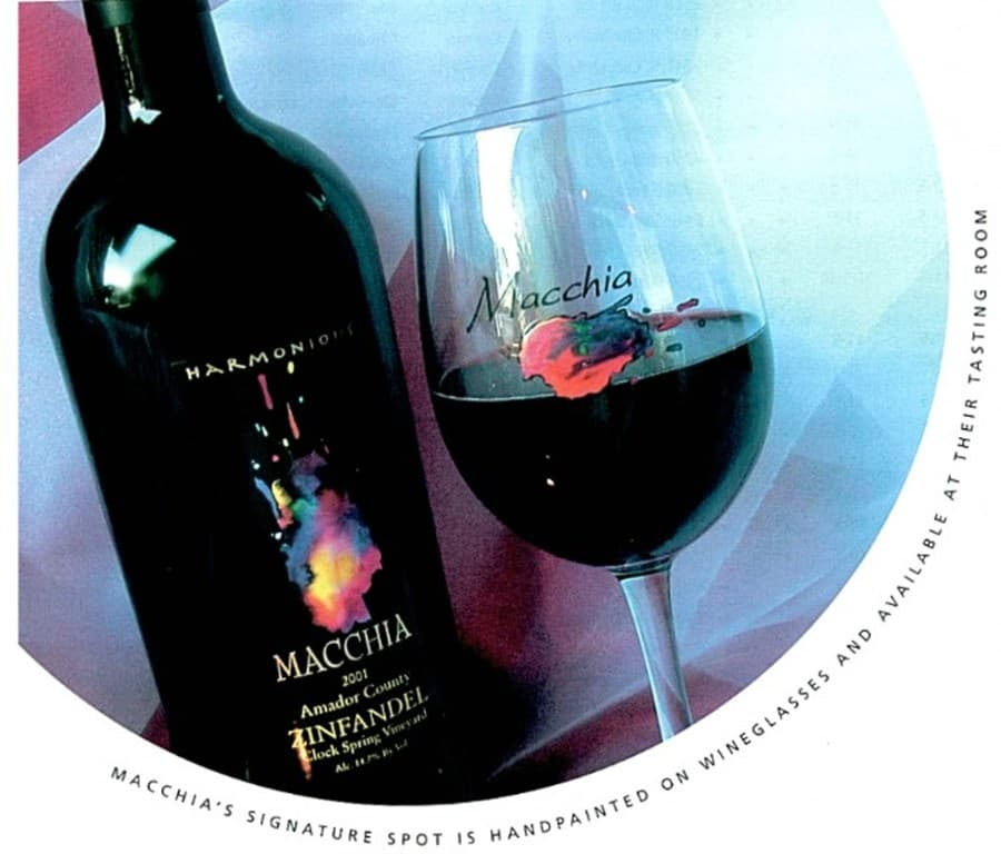 A gallery image (20104) of Macchia from CellarPass