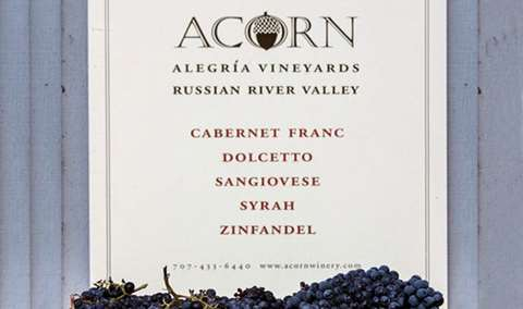 ACORN Winery  Alegra Vineyards