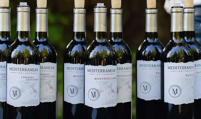 A gallery image (21484) of Mediterranean Vineyards from CellarPass