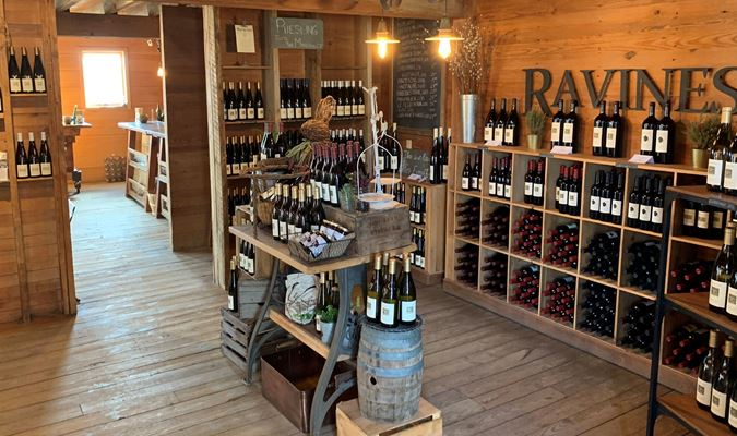 A gallery image (23399) of Ravines Wine Cellars from CellarPass