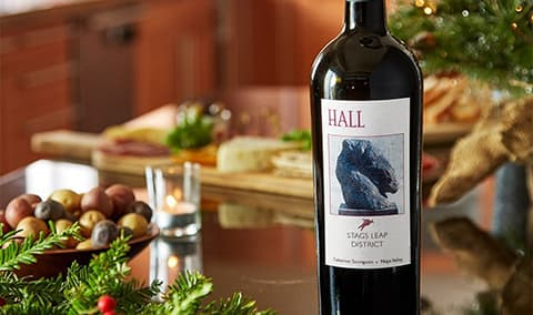 A Taste of HALL - Party Pairings, Stags Leap Cab & Chef Polly Lappetito