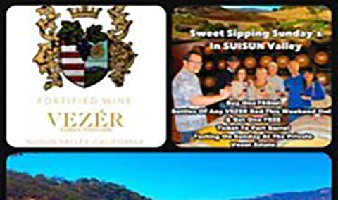 Sipping Sundays - Port Tasting at the VEZER Ranch Image