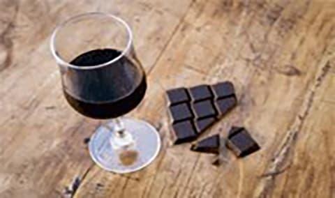 Wine and Chocolate Pairing Image