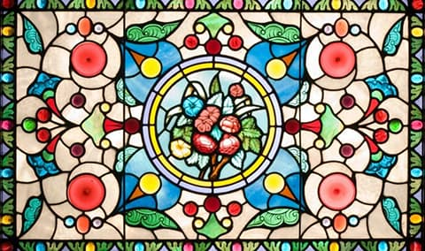 The Beringer Rhine House The Art of Stained Glass- April 17th Image