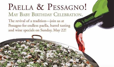"""Paella & Pessagno; May """"babies"""" Birthday Bash"""