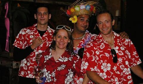 Hawaiian Luau Pick Up Party Image