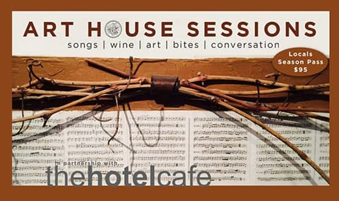 Art House Sessions Locals' Five Show Season Pass
