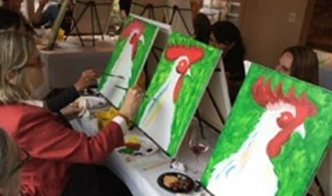 Roadhouse OCTOBER Paint & Sip Party-10/27