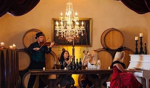 Music  Wine Image