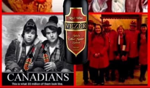 Canadian Theme Wine Club Release Pick Up Party Image