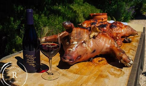 Pig, Pizza,  Pinot Festival Image