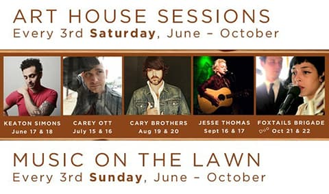 Cary Brothers 'Art House Sessions' Showcase