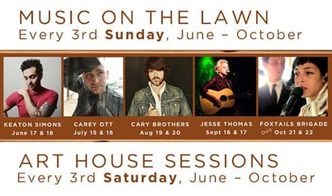 Cary Brothers 'Music on the Lawn' Show