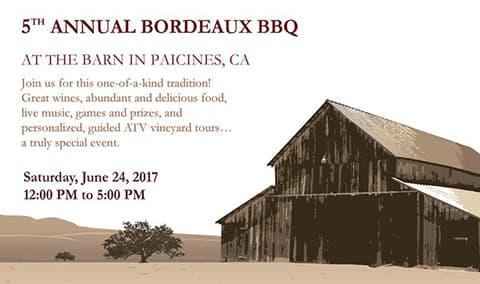 5th Annual Bordeaux BBQ