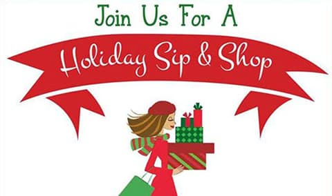 2nd Annual Holiday Sip 'n Shop