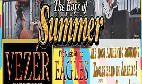 VEZERSTOCK Wine  Live Music Series - Boys of Summer Eagles Tribute Image