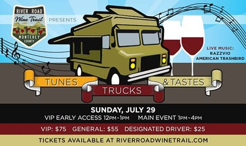 Tunes, Trucks  Tastes 2018 NEW LOCATION at Paraiso Vineyards Image
