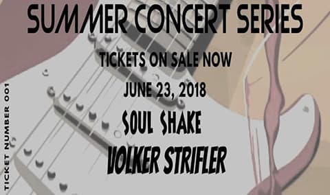 Pessagno Winery Summer Concert Series Presents Volker Strifler  Soul Shake Image