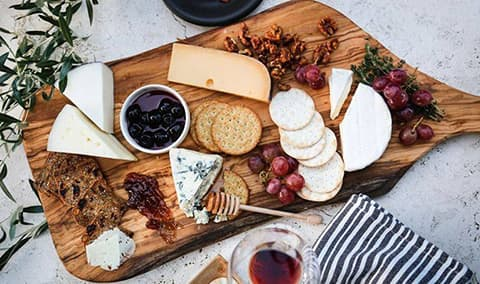 Wine and Cheese Pairing with the Salty Cow Image