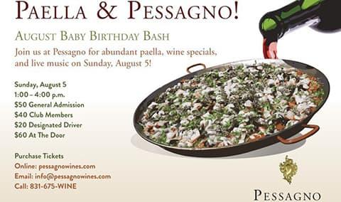 Paella  Pessagno  August Birthday Bash Image