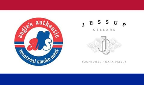 Jessup Cellars Pairing Dinner @ Augie's Montreal Deli in Berkeley