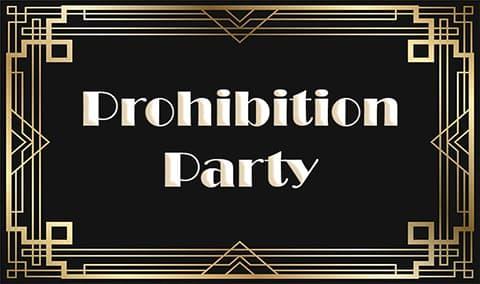Concannon Prohibition Party