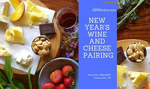 New Year's Wine & Cheese Pairing with Tank Room Tour