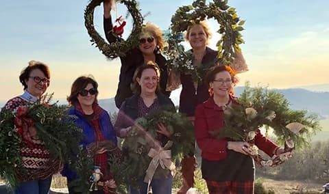 5th Annual Wreath Making Party Image