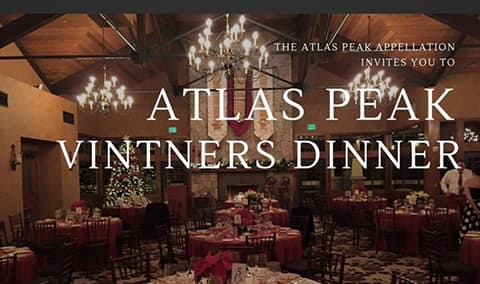 Atlas Peak Vintners Dinner