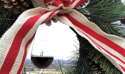 Wine  Design DIY Holiday Wreath Image
